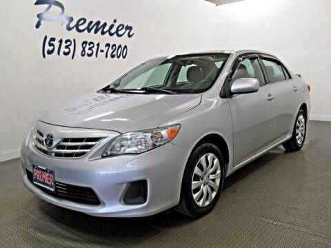 2013 Toyota Corolla for sale at Premier Automotive Group in Milford OH