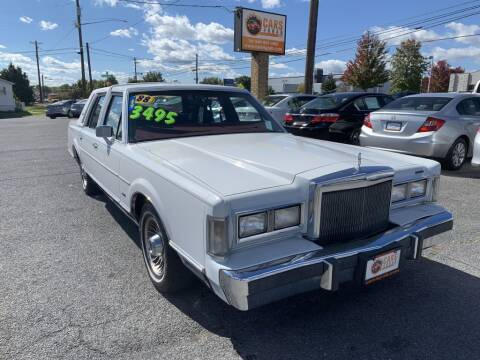 1988 Lincoln Town Car for sale at Cars 4 Grab in Winchester VA
