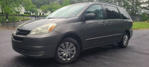 2005 Toyota Sienna for sale at el camino auto sales - Global Imports Auto Sales in Buford GA