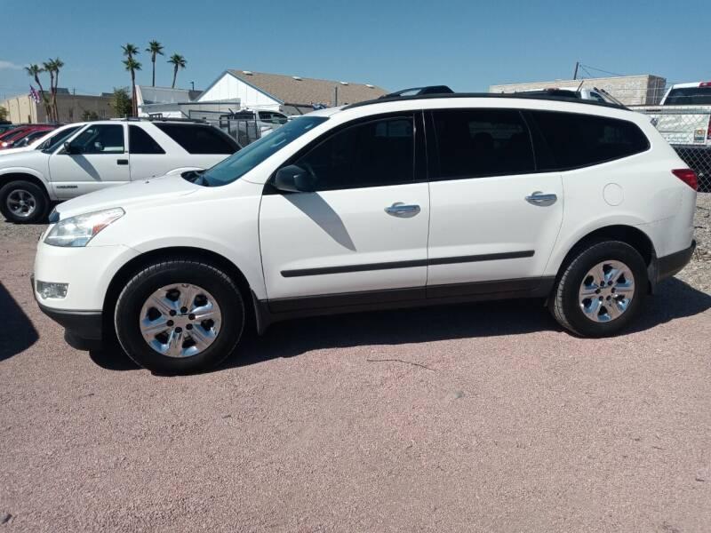 2012 Chevrolet Traverse for sale at ACE AUTO SALES in Lake Havasu City AZ