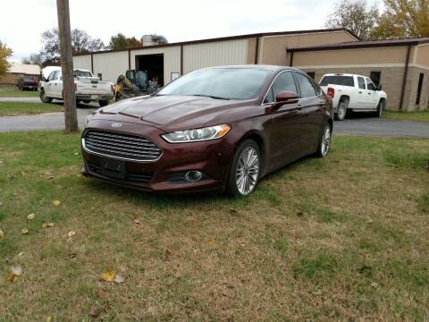 2015 Ford Fusion for sale at KW TRUCKING OF KS in Saint Paul KS