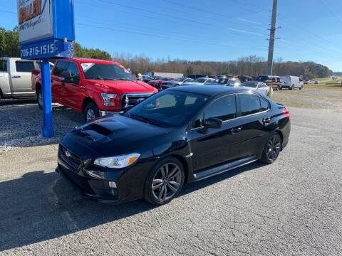 2016 Subaru WRX for sale at Billy Ballew Motorsports in Dawsonville GA
