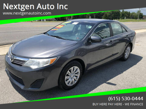 2014 Toyota Camry for sale at Nextgen Auto Inc in Smithville TN