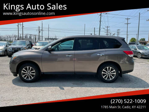 2014 Nissan Pathfinder for sale at Kings Auto Sales in Cadiz KY