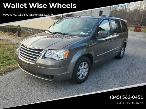 2010 Chrysler Town and Country for sale at Wallet Wise Wheels in Montgomery NY