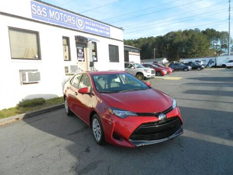 2018 Toyota Corolla for sale at S & S Motors in Marietta GA
