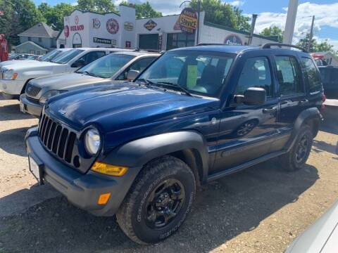 2007 Jeep Liberty for sale at Nelson's Straightline Auto - 23923 Burrows Rd in Independence WI