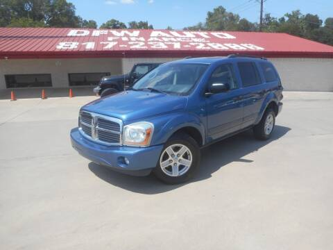 2005 Dodge Durango for sale at DFW Auto Leader in Lake Worth TX