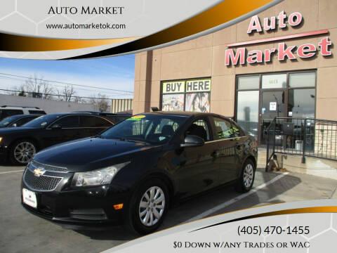2011 Chevrolet Cruze for sale at Auto Market in Oklahoma City OK