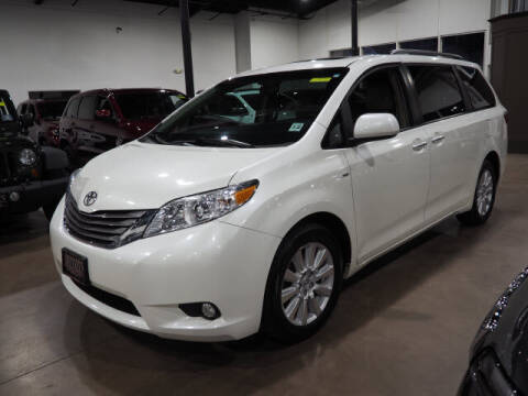 2017 Toyota Sienna for sale at Montclair Motor Car in Montclair NJ