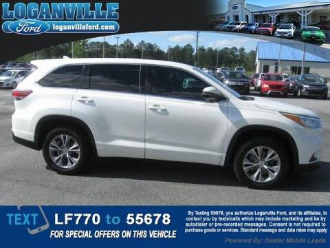 2015 Toyota Highlander for sale at Loganville Quick Lane and Tire Center in Loganville GA