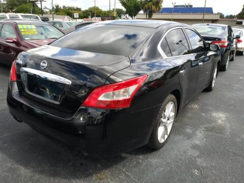 2009 Nissan Maxima for sale at Tony's Auto Sales in Jacksonville FL