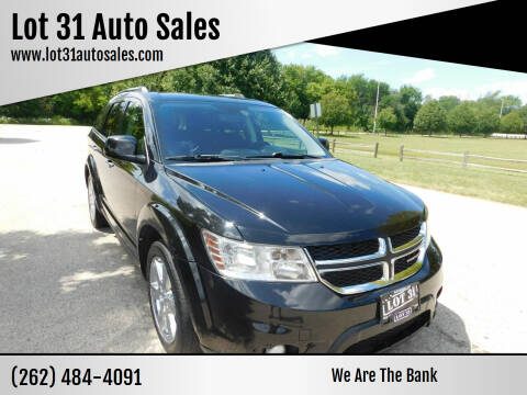 2013 Dodge Journey for sale at Lot 31 Auto Sales in Kenosha WI