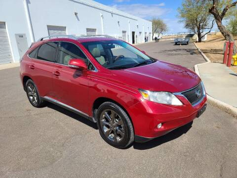 2010 Lexus RX 350 for sale at NEW UNION FLEET SERVICES LLC in Goodyear AZ