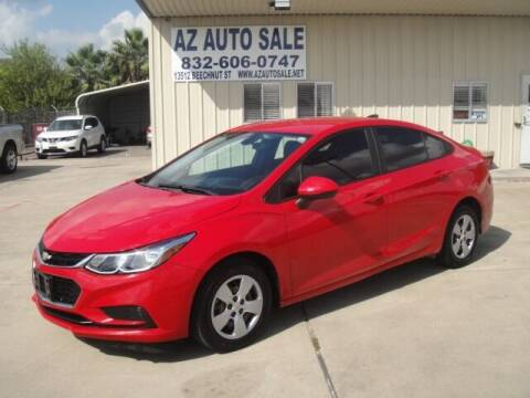 2018 Chevrolet Cruze for sale at AZ Auto Sale in Houston TX