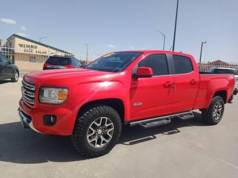 2015 GMC Canyon for sale at Hugo Motors INC in El Paso TX