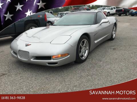 2004 Chevrolet Corvette for sale at Savannah Motors in Cahokia IL