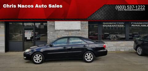 2005 Toyota Camry for sale at Chris Nacos Auto Sales in Derry NH