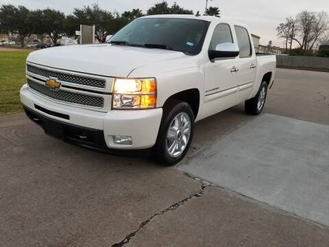 2012 Chevrolet Silverado 1500 for sale at MOTORSPORTS IMPORTS in Houston TX