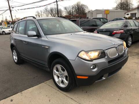 2007 BMW X3 for sale at Wise Investments Auto Sales in Sellersburg IN