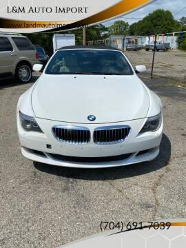 2008 BMW 6 Series for sale at L&M Auto Import in Gastonia NC