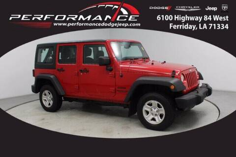 2014 Jeep Wrangler Unlimited for sale at Performance Dodge Chrysler Jeep in Ferriday LA