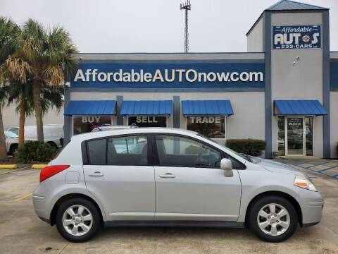2007 Nissan Versa for sale at Affordable Autos in Houma LA