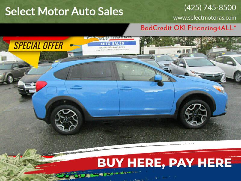 2017 Subaru Crosstrek for sale at Select Motor Auto Sales in Lynnwood WA