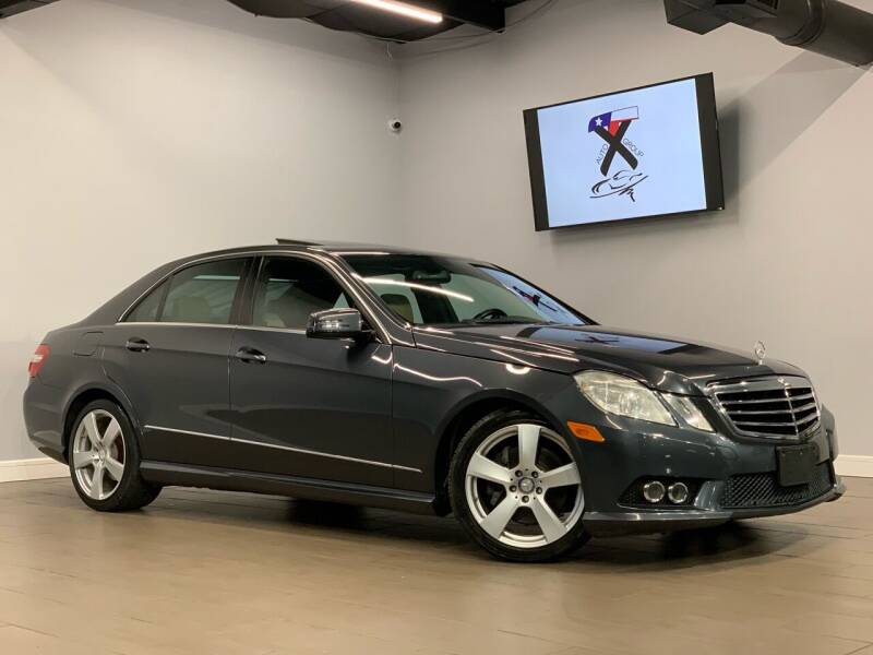 2010 Mercedes-Benz E-Class for sale at TX Auto Group in Houston TX