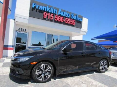 2016 Honda Civic for sale at Franklin Auto Sales in El Paso TX