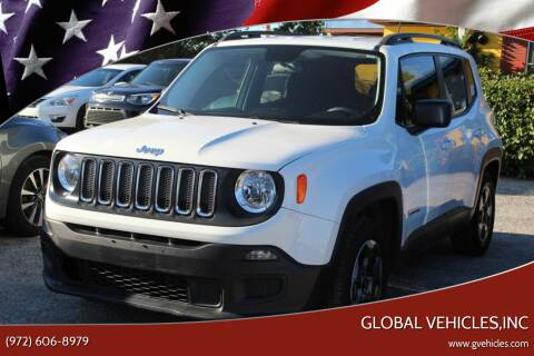 2016 Jeep Renegade for sale at Global Vehicles,Inc in Irving TX