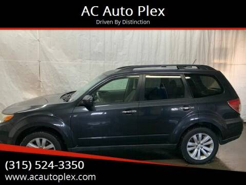 2012 Subaru Forester for sale at AC Auto Plex in Ontario NY