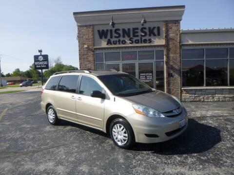 2007 Toyota Sienna for sale at Wisneski Auto Sales, Inc. in Green Bay WI