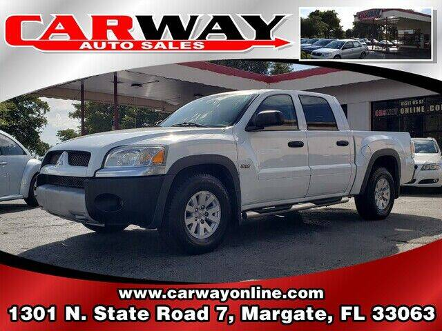 2006 Mitsubishi Raider for sale at CARWAY Auto Sales in Margate FL