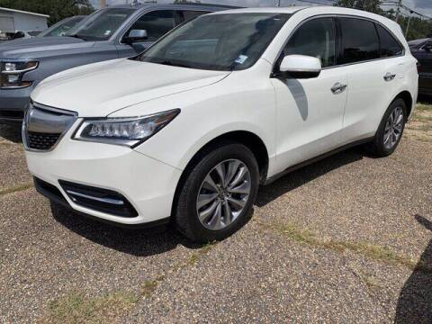 2015 Acura MDX for sale at CROWN  DODGE CHRYSLER JEEP RAM FIAT in Pascagoula MS