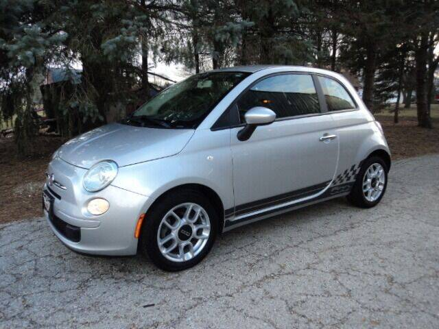 2013 FIAT 500 for sale at HUSHER CAR COMPANY in Caledonia WI