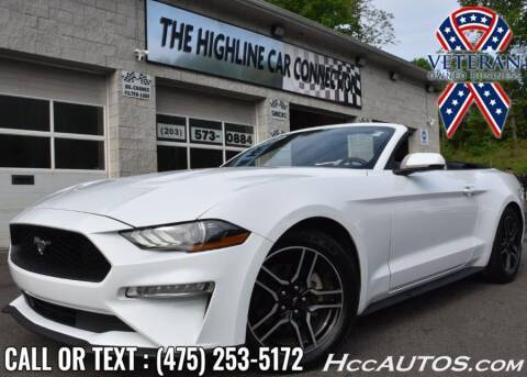 2020 Ford Mustang for sale at The Highline Car Connection in Waterbury CT