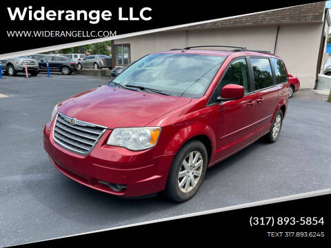 2008 Chrysler Town and Country for sale at Widerange LLC in Greenwood IN