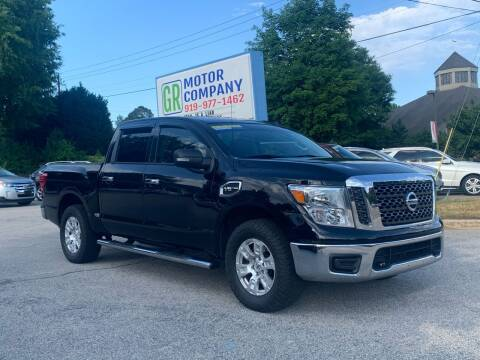2017 Nissan Titan for sale at GR Motor Company in Garner NC