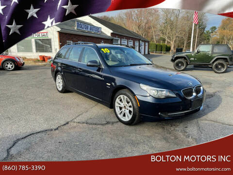 2010 BMW 5 Series for sale at BOLTON MOTORS INC in Bolton CT