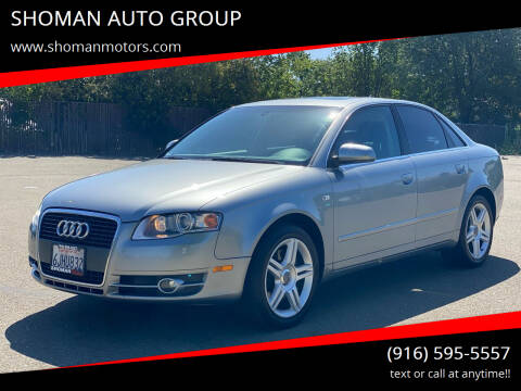 2007 Audi A4 for sale at SHOMAN AUTO GROUP in Davis CA