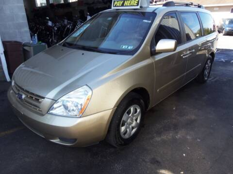 2008 Kia Sedona for sale at Fulmer Auto Cycle Sales - Fulmer Auto Sales in Easton PA