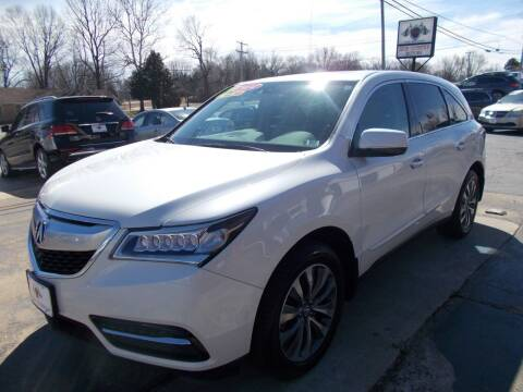 2014 Acura MDX for sale at High Country Motors in Mountain Home AR