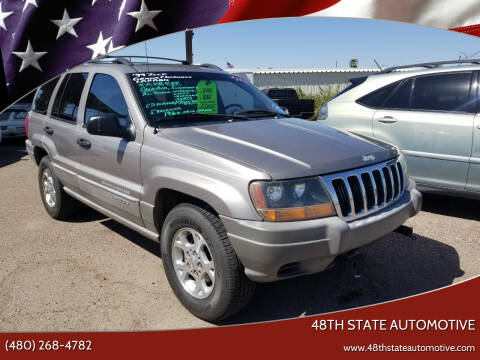 1999 Jeep Grand Cherokee for sale at 48TH STATE AUTOMOTIVE in Mesa AZ