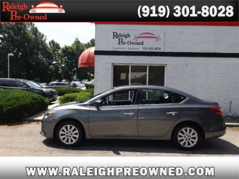 2017 Nissan Sentra for sale at Raleigh Pre-Owned in Raleigh NC