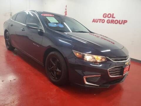 2016 Chevrolet Malibu for sale at GOL Auto Group in Austin TX