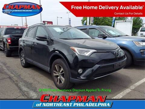 2017 Toyota RAV4 for sale at CHAPMAN FORD NORTHEAST PHILADELPHIA in Philadelphia PA