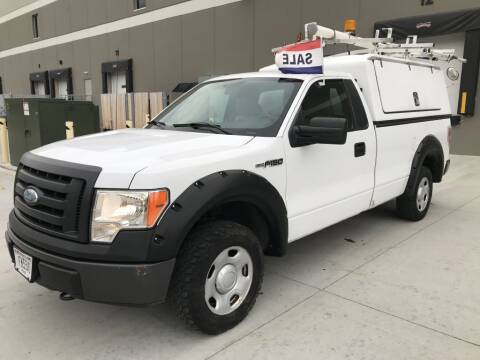 2009 Ford F-150 for sale at Angies Auto Sales LLC in Newport MN