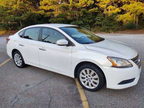 2013 Nissan Sentra for sale at WIGGLES AUTO SALES INC in Mableton GA