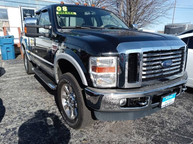 2008 Ford F-250 Super Duty for sale at Arak Auto Group in Bourbonnais IL